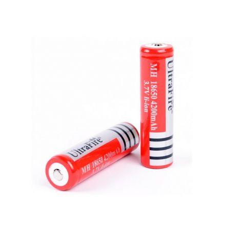 2x Oplaadbare 18650 batterijen